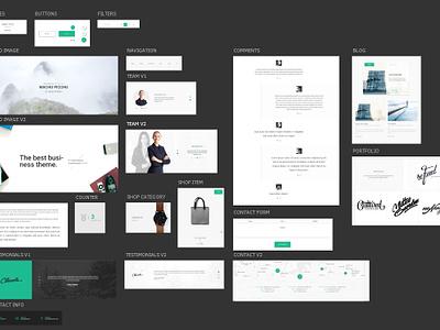 FREEBIE PSD: Google Material Design UI Kit app design mobile web google ui kit freebie psd free design material ux ui