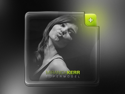 People Widget B&W (Free PSD) psd box free people widget model button android contact rebound
