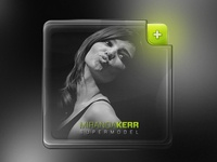 People Widget B&W (Free PSD)