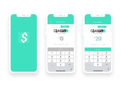 P2P Payment App logo design payment p2p ux ui challenge ui sketch mobile app iphone x ios design