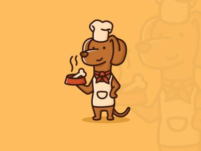Chef Dachshund