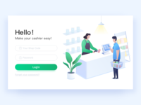 Cashier System landing page Ⅱ