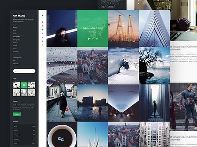 Mars | Professional Portfolio flat corporate ux layout ui webdesign web portfolio