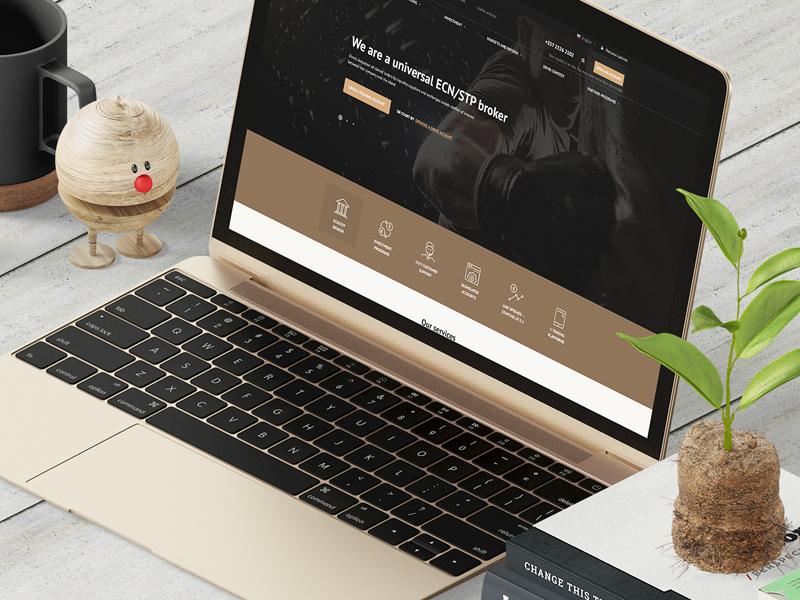 Fxfinpro | Finance Website corporate finance clean forex flat ux layout ui webdesign web