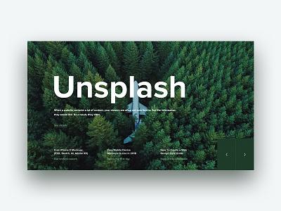 Unsplash image color webdesign web ux ui layout flat nature clean