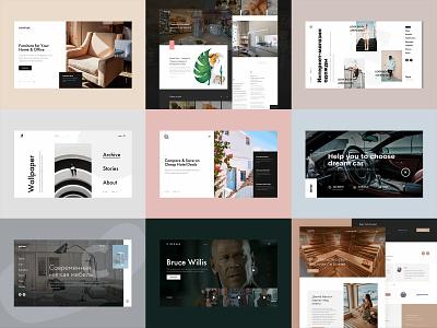 Best of 2018 website business layout ux ui web webdesign collection best design best 9 best of 2018