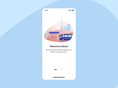 Intro Slide for Commute Transportation App