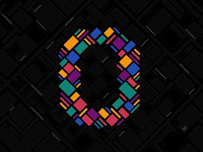 0 - City of Books 0 zero motion coloful nino identity holy motors tbilisi after effect animation branding logo vector kavela design design books