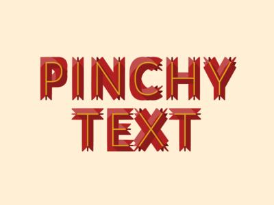 CSS Pinchy Text