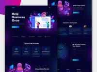 Xipe Home Page Design