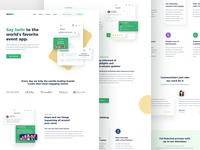 Event App Landing Page