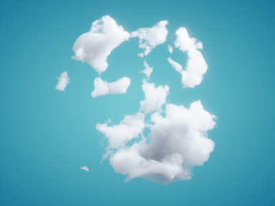 CLOUDS - #nodevember 02 render procedual cgi 3d animation blender