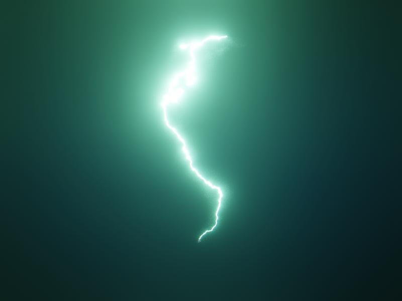 LIGHTNING - #nodevember 03 procedural lighting bolt thunder design render procedual 3d animation blender