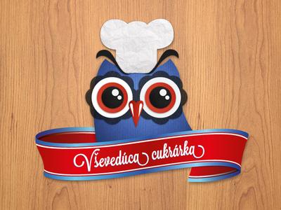 Owl Illustration for Facebook App
