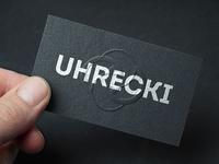 Logo Designers duo Uhrecki blacksmith and goldsmith.