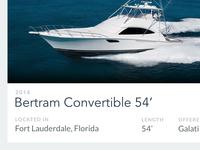 Boat Listing
