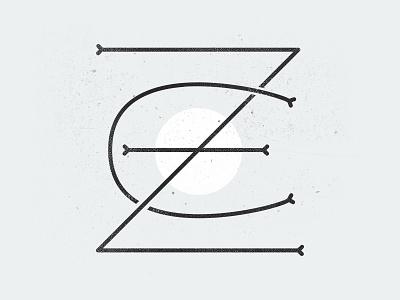 Letter exploration texture simple