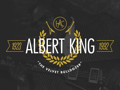 The Velvet Bulldozer badge flat gold flying v guitar futura banner