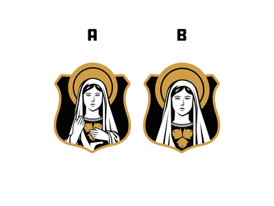 Soccer Crest - Choose A or B