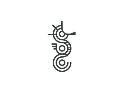 Seahorse Logoconcept