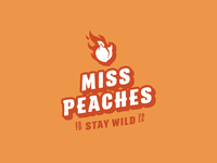 Miss Peaches Logorelaunch