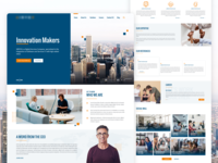 Landing Page for X