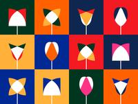 4x3: Flower/Color Studies
