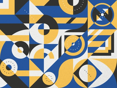 Pattern Play — Part 2 form simple play modern grid color illustration geometric abstract shape pattern