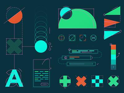 Building a Design System style guide pattern shape ui kit ui dsm components mokriya system product illustration design systems