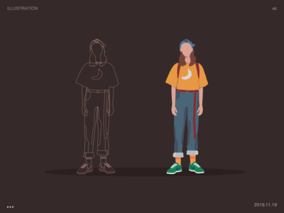 Character illustration exercises