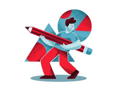 Illustrator creative character daily illustration graphic designer design artwork artist art