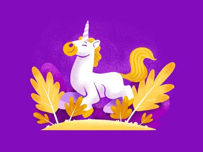 The Unicorn creative character daily illustration graphic designer design artwork artist art