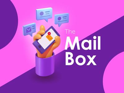 The Mailbox creative character daily illustration graphic designer design artwork artist art