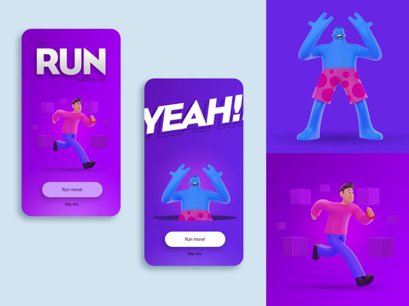 3D Character practice vector design character ui graphic design daily creative artwork art illustration