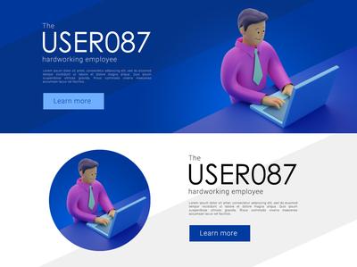 USER087 designer ux creative design graphic design ui character artwork art illustration