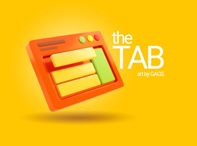 The TAB typography ux dribbble design art graphic design illustration ui creative artwork