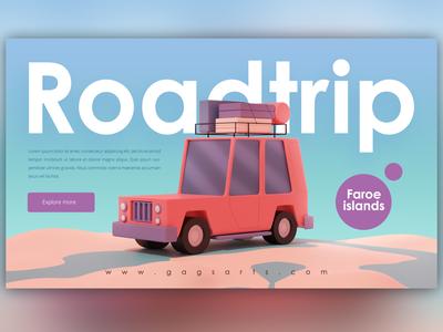 Roadtrip creative character daily illustration graphic designer design artwork artist art
