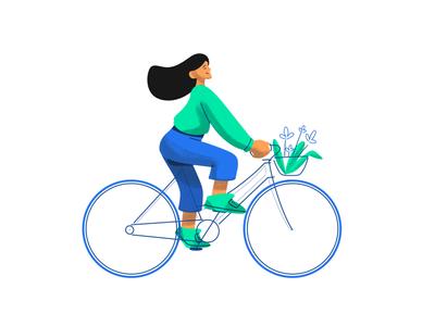 The Ride creative character daily illustration graphic designer design artwork artist art