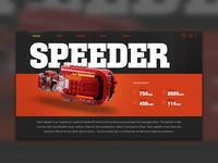 Speeder page