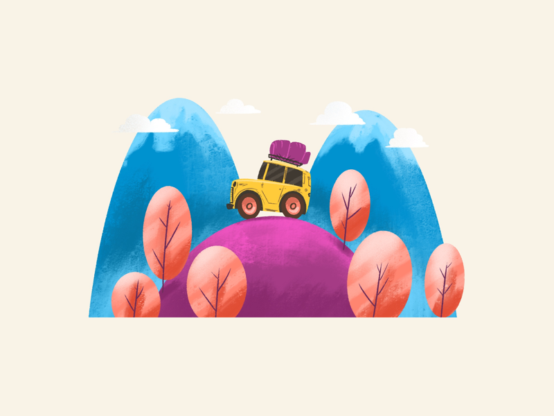 Travel creative character dribbble illustration graphic design designer design artwork artist art