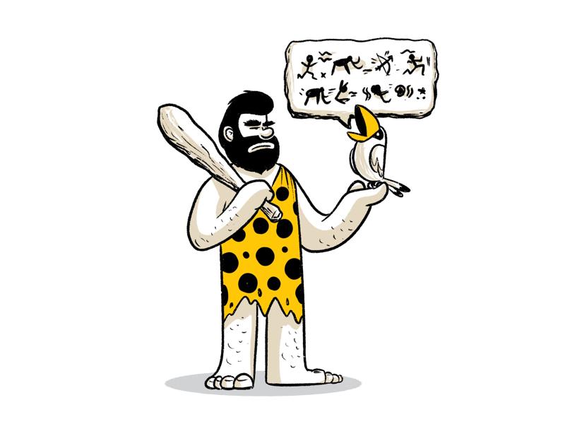 The Notification creative character dribbble illustration graphic design designer design artwork artist art