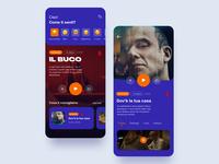 Movie App movie suggest amazon prime netflix uiux ui tv series design art design dribbble app movie app