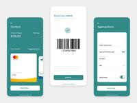 Checkout / Carrello barcode ui barcode generator barcode minimalistic design webdesign app ui app design ux checkout mobile checkout application checkout page app carrello app checkout ui ui