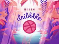 Hey dribbbleland (: