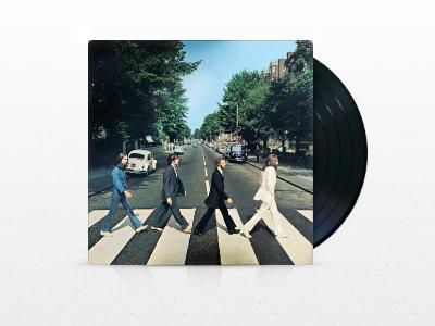 Abbey Road vinyl record album