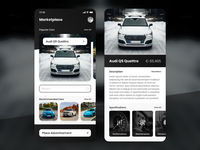 Car Trading Application Design unsplash iphone xr size iphone buy sell marketplace market trade application trading interaction design car car app ux ui design ux ui design adobe xd