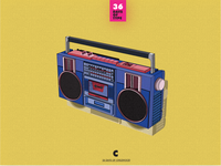 C for Cassette Player