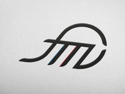 Football agency design branding agency agent sport football curves illustration graphic design logo