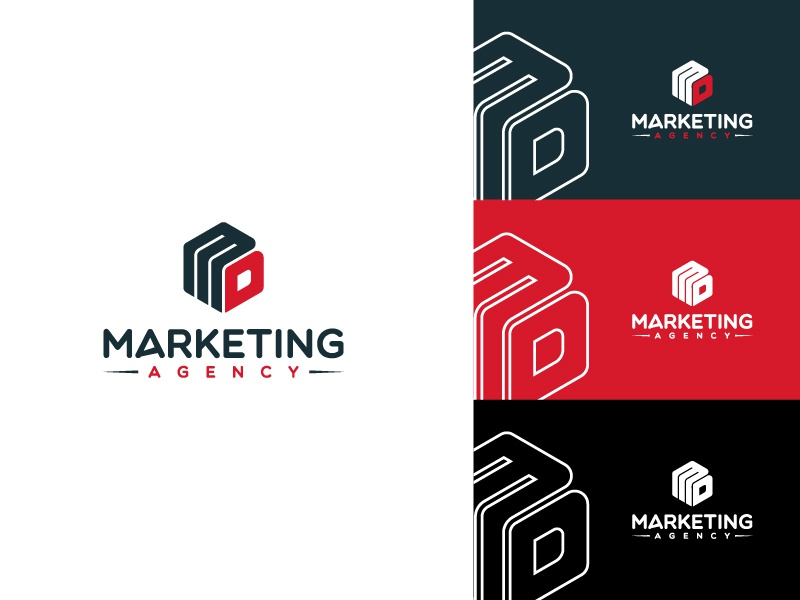 Marketing Agency | Logo illustration branding design illustrator adobe illustrator adobe brand identity logodesign branding brand design brand design logotype logo design logos logo