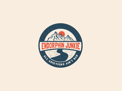 Endorphin Junkie Badge